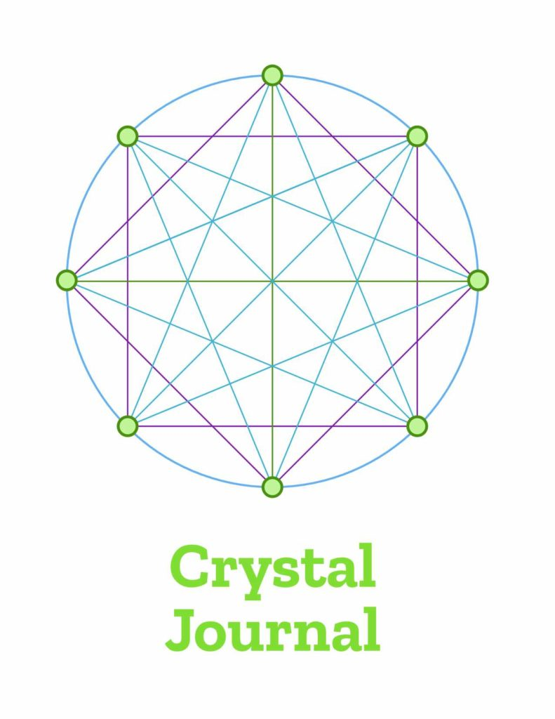 Crystal Grid Journal Cover