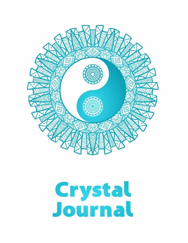 Yin-Yang Crystal Journal Cover